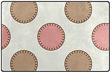 FANTAZIO Teppich mit gesäumten Punkten