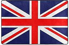 Fantazio Teppich mit Union Jack-Flagge, gerader