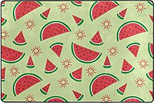 Fantazio Teppich mit Wassermelonen-Muster, gerader