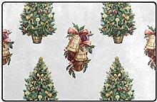 FANTAZIO Teppich mit Weihnachtsglockenmuster