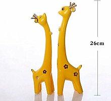 FANTEXI Dekoration Keramik Handwerk Tierliebhaber