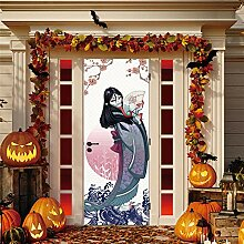 Fantxzcy 3D-Tür-Wandbild, Aufkleber,
