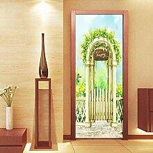 Fantxzcy Wandbilder für Tür, Wandaufkleber,