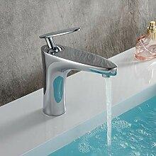 FAPPT Wasserhahn Bad Waschbecken Wasserhahn Chrom