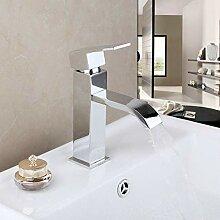 FAPPT Wasserhahn Bad Wasserhahn Chrom poliert Bad