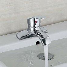 FAPPT Wasserhahn Bad Wasserhahn Verchromt