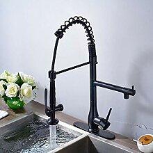 FAPPT Wasserhahn Chrom ausziehbar Küchenarmatur
