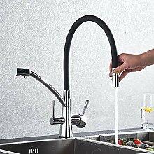 FAPPT Wasserhahn Filter Küchenreinigung Flexible