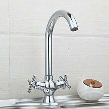 FAPPT Wasserhahn Küchenarmatur aus massivem