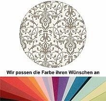 Farbanpassung: Dezent üppige Tapete mit klassischem Damast Muster - sie kaufen die Dienstleistung der Farbanpassung und Druckdaten Erstellung - SIE KAUFEN KEINE Tapete