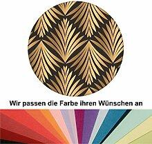 Farbanpassung: klassische Tapete Art Deco Akanthus mit Blatt Muster - sie kaufen die Dienstleistung der Farbanpassung und Druckdaten Erstellung - SIE KAUFEN KEINE Tapete