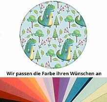 Farbanpassung: lustige Kinder Tapete mit kleinen Drachen im Zauberwald - sie kaufen die Dienstleistung der Farbanpassung und Druckdaten Erstellung - SIE KAUFEN KEINE Tapete