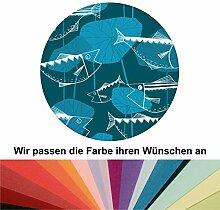 Farbanpassung: Retro Fisch Tapete Angler Glück im Stil der 70er - sie kaufen die Dienstleistung der Farbanpassung und Druckdaten Erstellung - SIE KAUFEN KEINE Tapete