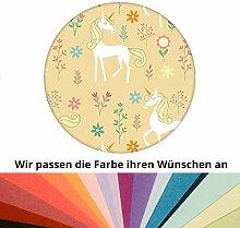 Farbanpassung: zauberhafte Kinder Traum Tapete mit magischem Einhorn - sie kaufen die Dienstleistung der Farbanpassung und Druckdaten Erstellung - SIE KAUFEN KEINE Tapete