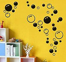Farbblase Wandaufkleber Kinderzimmer Badezimmer