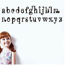 Farbe Abc Alphabete Aufkleber Vinyl Wandaufkleber
