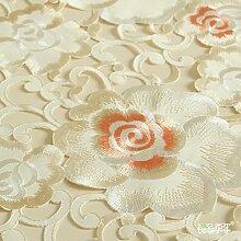 Farbe Der Rose Hall, Wah Jahr Stickerei Tisch Läufer Tuch Tischläufer WW WW Tabelle XI Tisch Couchtisch Tischläufer-A 40x200cm(16x79inch)