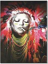 Farbe Digitale abstrakte Leinwand Malerei Plakate