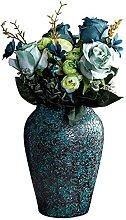 Farbe Keramik Mosaik Pflanze Topf Europäischen