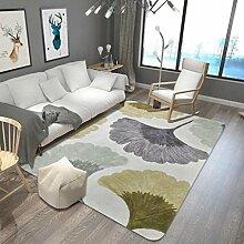 Farbe Lead Leaves Teppich Wohnzimmer / Küche / Schlafzimmer / Bad mit langem Teppich Absorbierendes Fußbett Anti-Rutsch-Matte , 2 , 180x280cm