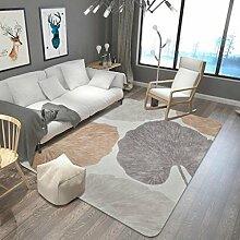 Farbe Lead Leaves Teppich Wohnzimmer / Küche / Schlafzimmer / Bad mit langem Teppich Absorbierendes Fußbett Anti-Rutsch-Matte , 3 , 180x280cm