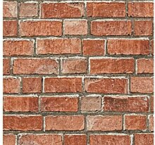 Farben rot Brick Effekt Tapete