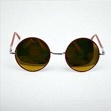 WKAIJC Mode Ebener Spiegel Greifer Multilaterale Linien Männer Und Frauen Kreativ Bequem Elegant Personalisierte Sonnenbrillen ,D