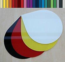 Farbige Glasbodenplatte Funkenschutz Kaminplatte Glas Ofen Platte Bodenplatte Wunschfarbe nach RAL ([RAL] Tropfen 100cm [T100])