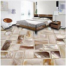 Farbkunst-Boden-Badezimmer-wasserdichte Aufkleber