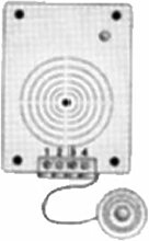 FARFISA Elektro-Türen mit separatem Mikrofon 337C