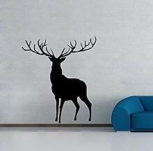 Farleopard Deer Wall Decor Aufkleber Abnehmbare