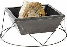 Farmcook Feuerschale PAN 23, Stahl 60x60cm,