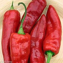 Farmerly Marconi Red Sweet Pepper Heirloom Seeds