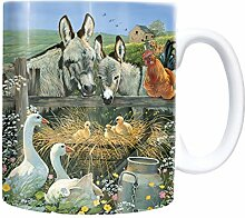 Farmyard - Mug - Becher - Chopes