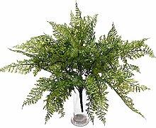Farnbusch grün x13, L 43cm, großer Busch,