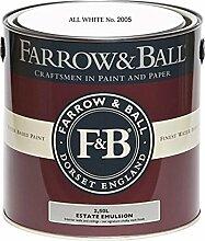 Farrow & Ball Estate Emulsion 2,5 Liter - ALL