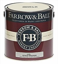 Farrow & Ball Estate Emulsion 2,5 Liter - AMMONITE No. 274