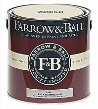 Farrow & Ball Estate Emulsion 2,5 Liter - AMMONITE