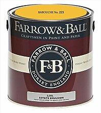 Farrow & Ball Estate Emulsion 2,5 Liter - BABOUCHE No. 223