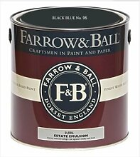Farrow & Ball Estate Emulsion 2,5 Liter - BLACK BLUE No. 95