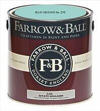 Farrow & Ball Estate Emulsion 2,5 Liter - BLUE GROUND No. 210