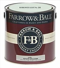 Farrow & Ball Estate Emulsion 2,5 Liter - BORROWED LIGHT No. 235