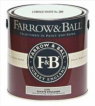 Farrow & Ball Estate Emulsion 2,5 Liter - CABBAGE