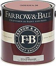 Farrow & Ball Estate Emulsion 2,5 Liter - CINDER ROSE No. 246