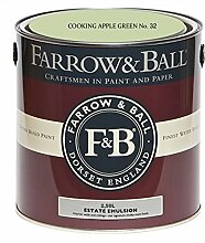 Farrow & Ball Estate Emulsion 2,5 Liter - COOKING APPLE GREEN No. 32
