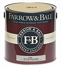Farrow & Ball Estate Emulsion 2,5 Liter - CORD No. 16