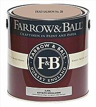 Farrow & Ball Estate Emulsion 2,5 Liter - DEAD