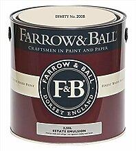 Farrow & Ball Estate Emulsion 2,5 Liter - DIMITY No. 2008