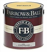 Farrow & Ball Estate Emulsion 2,5 Liter - DORSET CREAM No. 68