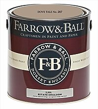 Farrow & Ball Estate Emulsion 2,5 Liter - DOVE